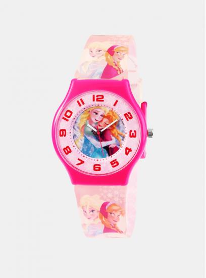 Otroška ura Frozen Pink