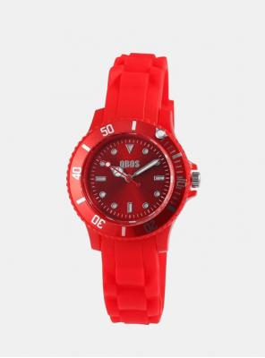 Otroška ura QBOS Fancy rdeča