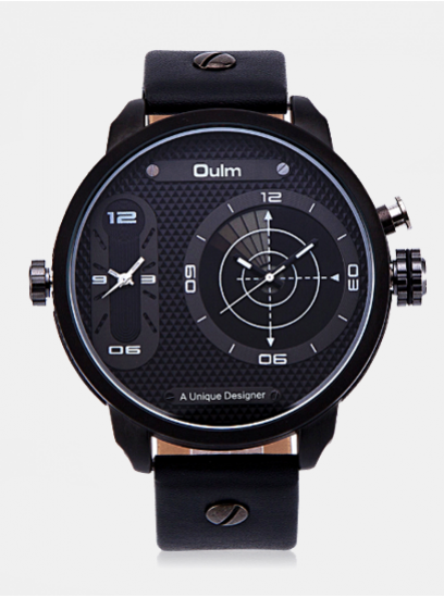 Moška ura Oulm Radar črna