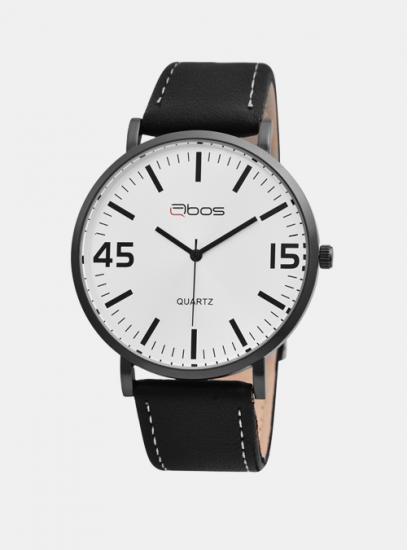 Moška ura QBOS 4515 črna