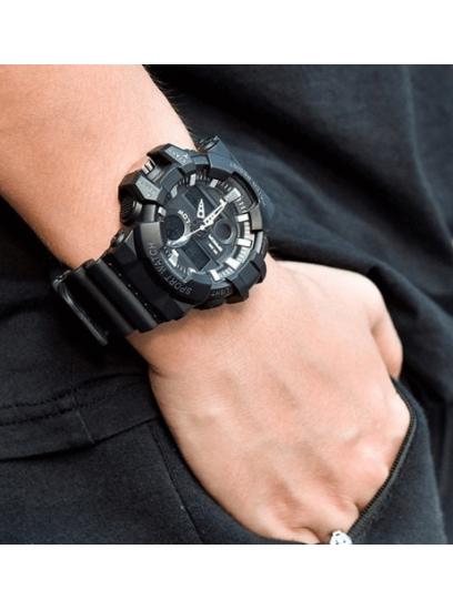 Moška ura Sanda Master II črna