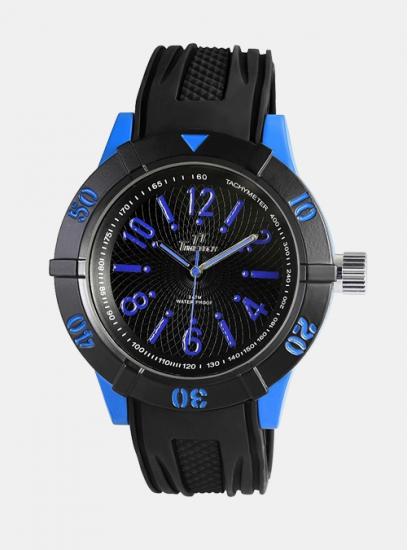 Moška ura TimeTech GoSport črna
