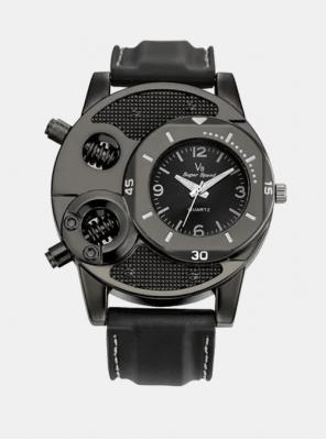 Moška ura V6 Aviator črna