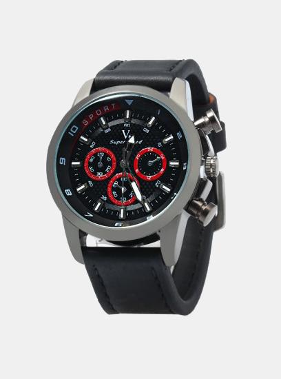 Moška ura V6 Sport Črna