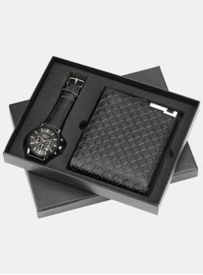 Moški set - denarnica in ura Chronos