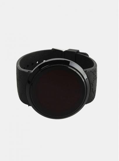 Moška ura LED Click črna