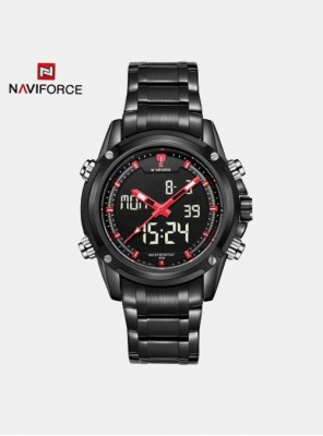 Moška ura Naviforce Extreme črna
