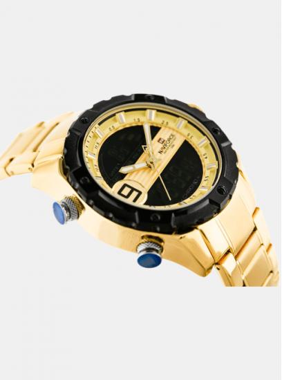 Moška ura Naviforce Vortex Zlata