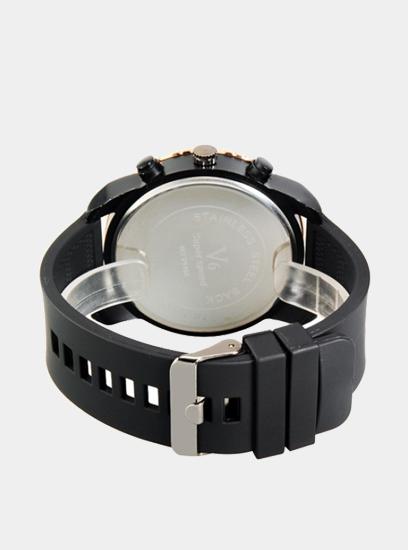 Moška ura V6 Casual črna