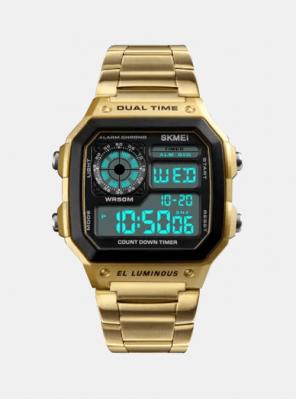 Unisex ura digital 80s Zlata