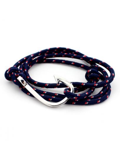 Moška zapestnica Hook blue