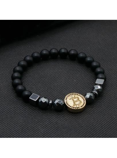 Moška zapestnica Bitcoin